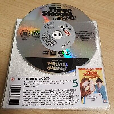 £2 • Buy DISC ONLY -  The Three Stooges The Movies DVD
