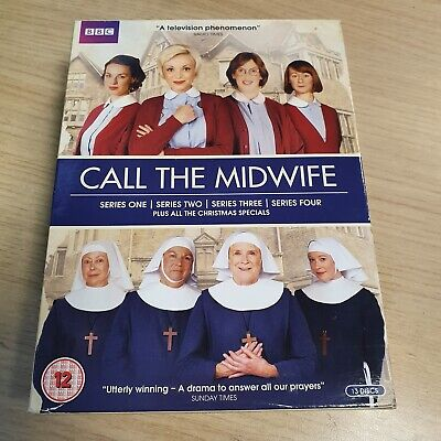 £12.50 • Buy Call The Midwife - Series 1-4 DVD