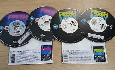 £3 • Buy DISC ONLY - Fresh Meat - Series 1  & 2 DVD