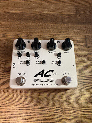 Xotic AC Plus Overdrive Boost Guitar Effect Pedal • 86.67£
