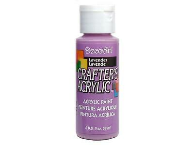 Decdca 26 Decoart Crafter S Acrylic Paint 2oz Lavender • 3.52£