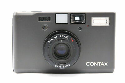 $ CDN6128.81 • Buy Contax T3 Black Late Type / Carl Zeiss Sonnar 35Mm F2.8 T Second Hand