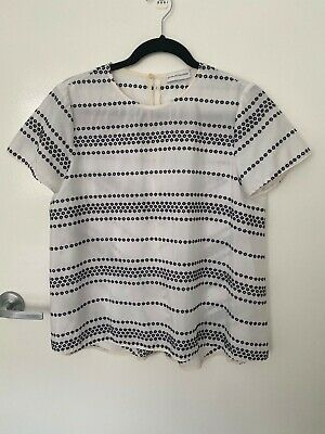 AU30 • Buy Scanlan Theodore Short Sleeve Blouse Top - Size 8