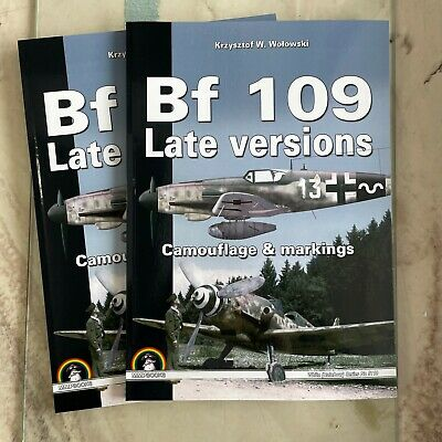 £25 • Buy BF 109 LATE VERSIONS Camouflage & Markings