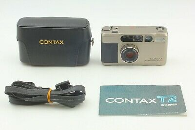 $ CDN1210.19 • Buy [Near Mint+++ W/ Hard Case + Strap] Contax T2 35mm Film Camera From Japan 2218