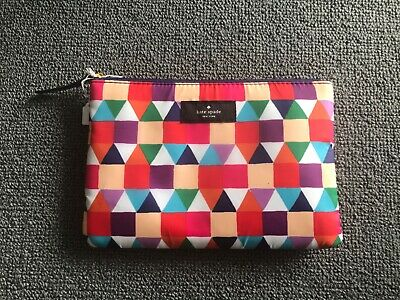 AU12.99 • Buy KATE SPADE Make Up Cosmetics Pouch With Zip + 2 Scarves  NEW