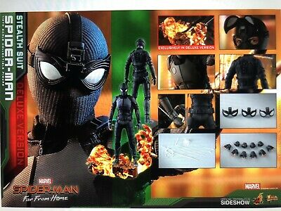 $ CDN543.54 • Buy Hot Toys Spiderman Stealth Suit Deluxe Version