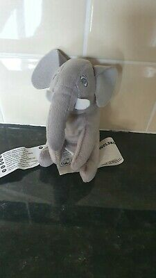 Ikea Djungelskog Soft Toy Elephant Small Animal Collection 12cm, Immaculate. • 3.50£