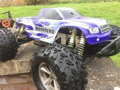 Nitro Petrol RC Car Buggy Truck 1/8th Scale Not Brushless (working) 2.4ghz Radio • 330£