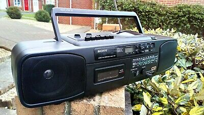 Sony Cfd-50L CD Radio Fm/am Cassette Player Portable Stereo CFD-50L Boombox • 25£