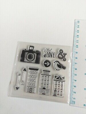 Clear Silicone  Stamps Scrapbooking Album Card Making Embelishments DlY • 3.10£