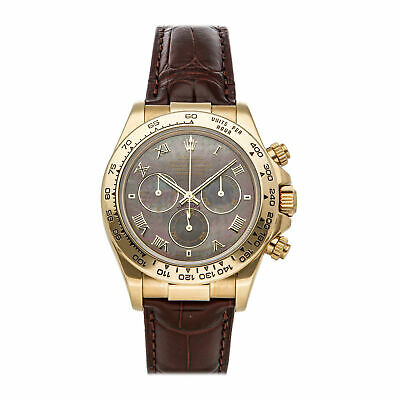 $ CDN30232.07 • Buy Rolex Cosmograph Daytona Auto 40mm Gold Mens Strap Watch 116518