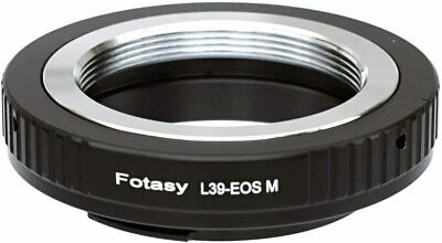 $8.99 • Buy Fotasy Leica M39 Lens To Canon EF-M Mount Adapter