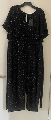 AU15 • Buy 'CITY CHIC' Jumpsuit Size L New With Tags