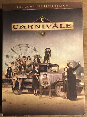 Carnivale - The Complete First Season (DVD, 2012, 4-Disc Set) • 5£