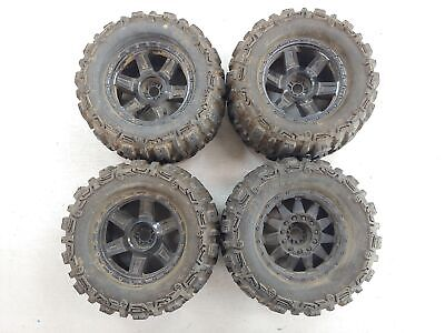 Proline Trencher X 1184 1/8 Scale Monster Truck Tires On 17mm Hex Wheels Traxxas • 53.66£