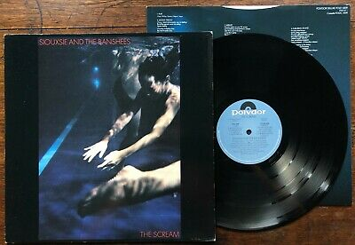 Siouxsie And The Banshees – Scream LP UK 1st Press + Insert Post Punk Slits  • 13.95£