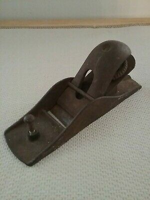 Cast Iron Block Plane - Similar To Stanley 102 But Unmarked • 14.47£