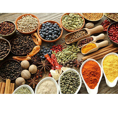 £3.75 • Buy 100g Whole Ground Herbs & Spices Nuts & Seeds Etc Premium Quality 100+ Varieties
