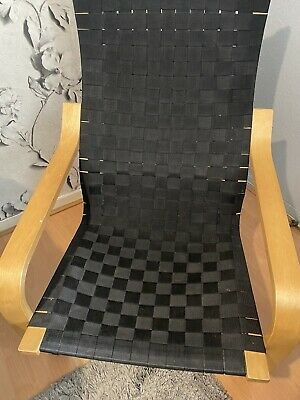 IKEA Poang Chair Black Rocking Chair Great For Nursing • 25£