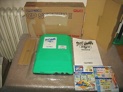 (b Board Only) Street Fighter Zero Cps2 Game Board Boxed Arcade Jap Import! • 173.25£