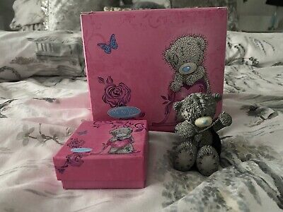 £14.99 • Buy Me To You Bear Figure With Handbag And Necklace Brand New