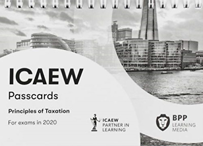 Icaew Principles Of Taxation BOOK NEW • 12.96£