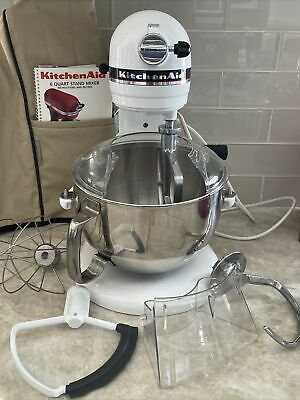 $ CDN444.03 • Buy KitchenAid Professional 6 6-Quart Bowl-Lift Stand Mixer W/ Accessories & Cover