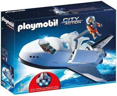 Playmobil City Action Space Shuttle With Light-up Boosters 6196 Collectible • 149£