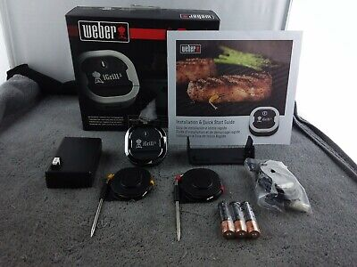$ CDN82.45 • Buy Weber IGrill 3 Bluetooth Grill Thermometer - Black - Used
