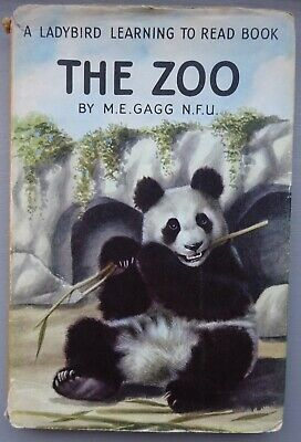 Ladybird Book - The Zoo, M.E. GAGG, Series 563, C.1965-71, With Dust Wrapper • 2.99£