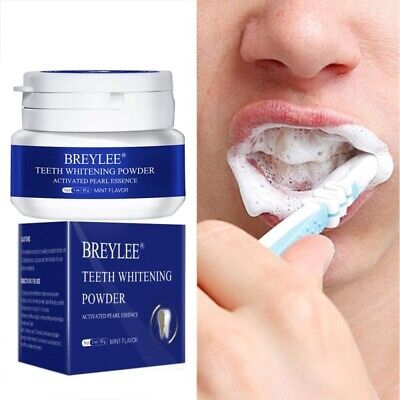 Teeth Whitening Powder Remove Plaque Stains Toothpaste Dental Tools White Teeth  • 8.68£