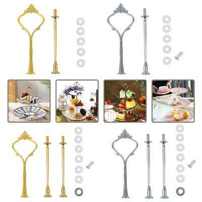 Cupcake Fittings Wedding Party Parts Kit Accessory 2/3 Tier Cake Plate Stand Use • 3.40£