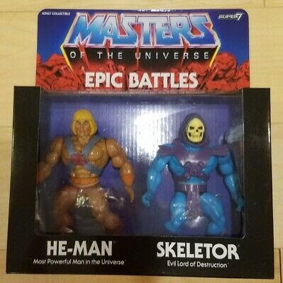 $85 • Buy Super 7 Masters Of The Universe Epic Battle He-Man And Skeletor