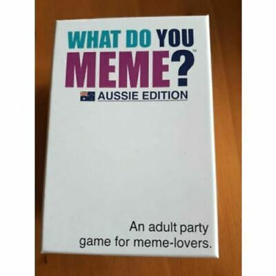 AU46 • Buy What Do You Meme? Aussie Edition Party Card Game Aussie Game Brand New