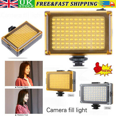 Bright 96 LED Studio Video Light For DSLR Camera Camcorder Photography Photo UK • 11.95£