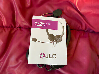 JLC Motion Wired USB Headset Call Centre Skype Zoom PC Laptop With Microphone • 9.99£