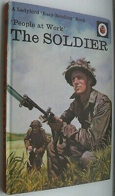 Ladybird Book,The Soldier,People At Work,Series 606B • 6.99£