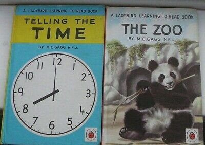 Ladybird Book,Telling The Time,2'6d,The Zoo,2'6d,Series 563,Great Condition • 9.99£