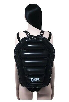 £24.99 • Buy Killstar Black Inflatable Coffin Backpack X-large Cute Gothic Witchy Pvc Bag