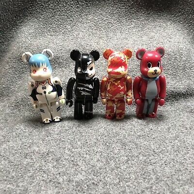 $50 • Buy 2006 Medicom Toyx BearBrick Series 12 Pattern - Maharishi X Andy Warhol Lot Of 4