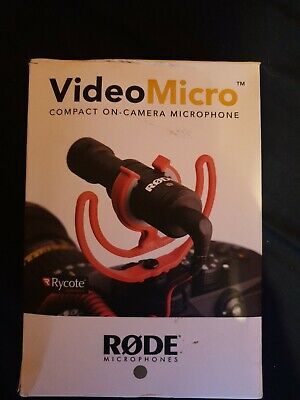 Rode VideoMicro Compact On-Camera Microphone  • 45£