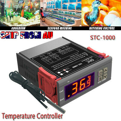 AU17.85 • Buy Inkbird Digital Temperature Controller ITC-1000 240V Thermostat Home Brewing