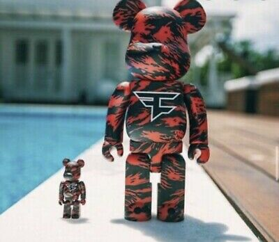$280 • Buy Faze Clan Bear Brick Bearbrick Brand New In Hand