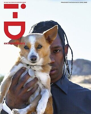 I-D Magazine No.362 The Utopia In Dystopia Issue #Travis Scott #Wolfpack • 9£