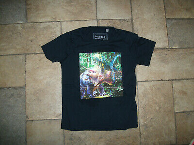 Boys Bluezoo Navy Dinosaur T Shirt Age 2-3 Great Condition • 0.99£