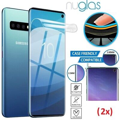 AU8.75 • Buy NUGLAS Samsung Galaxy Note 20 S21 S20 S10 E Plus Ultra PET Film Screen Protector