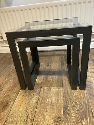 Nest Of 2 Glass Coffee Tables • 20£