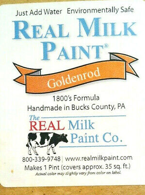 $7.29 • Buy The Real  Milk Paint Co Powder GOLDENROD Makes 16 Oz