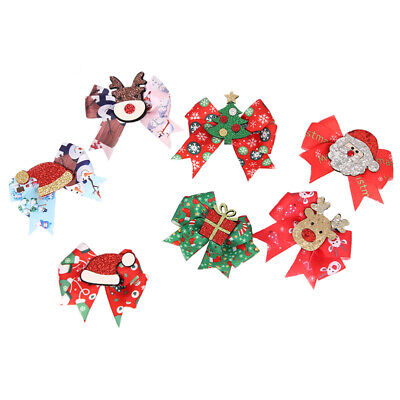 $ CDN13.80 • Buy 7pcs Christmas Hair Clip Compact Hairpin Hair Accessories For Kids Girls